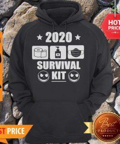 2020 Survival Kit Coronavirus Jack Skellington Hoodie