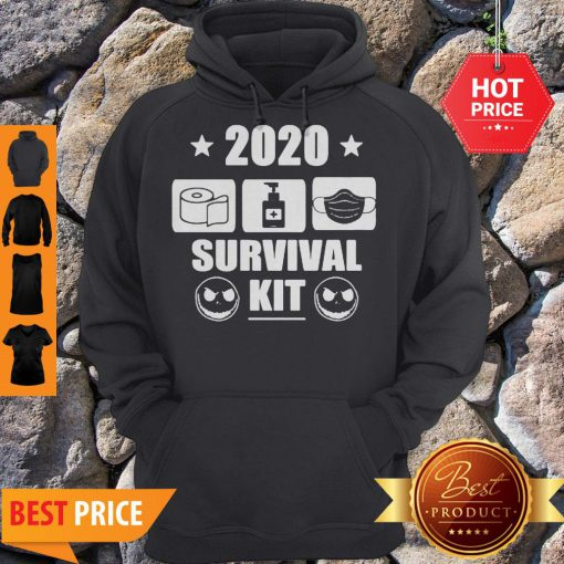 2020 Survival Kit Coronavirus Jack Skellington Hoodie