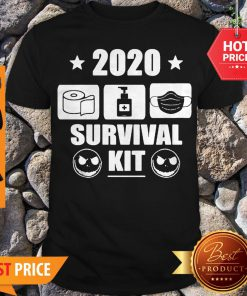 2020 Survival Kit Coronavirus Jack Skellington Shirt