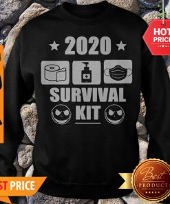 2020 Survival Kit Coronavirus Jack Skellington Sweatshirt