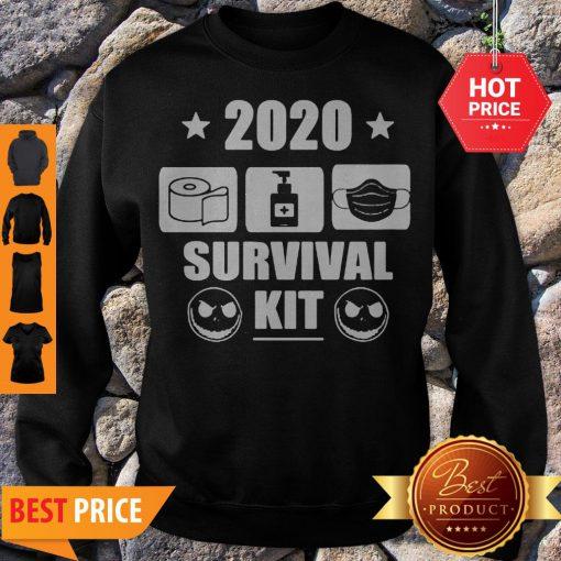 2020 Survival Kit Coronavirus Jack Skellington Sweatshirt