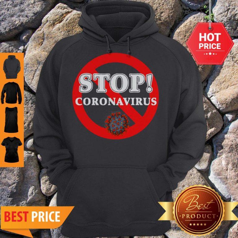 Stop Coronavirus Hoodie