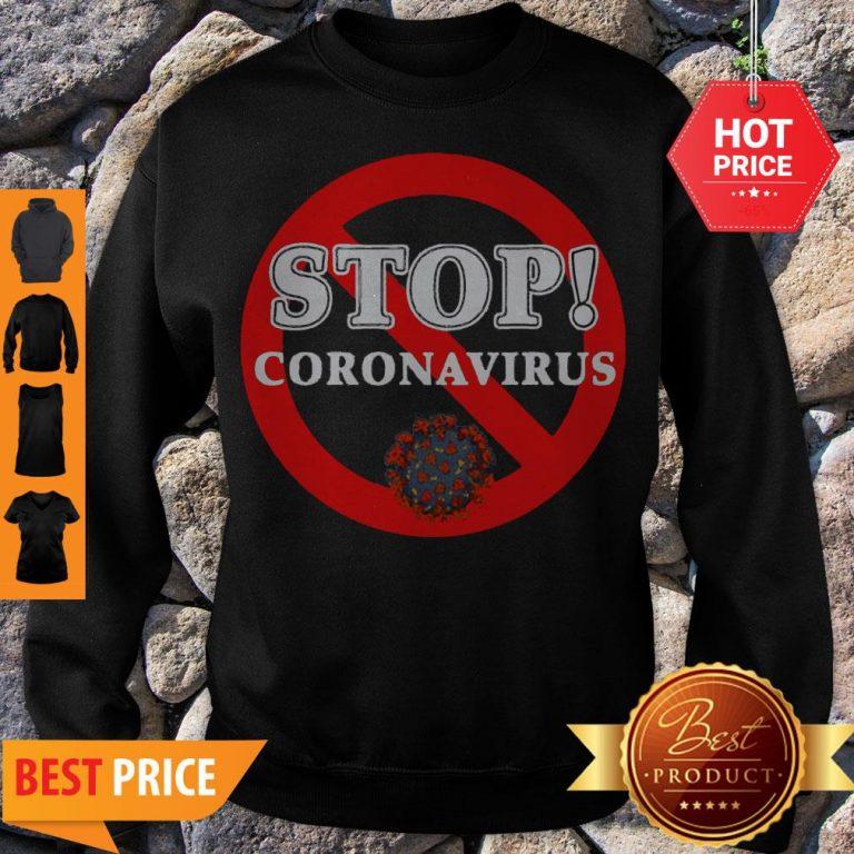 Stop Coronavirus Sweatshirt