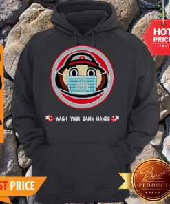 The Ohio State University Wash Your Damn Hands Hoodie