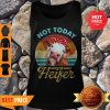 Vintage Not Today Heifer For Farmer Tank Top