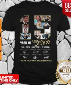 15 Year Of The Office 2005 2020 201 Episodes 9 Season Signatures Shirt