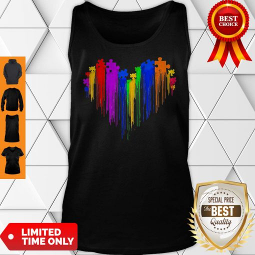 Awesome Autism Watercolor Tank Top