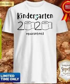 Awesome Kindergarten 2020 Quarantined Coronavirus Shirt
