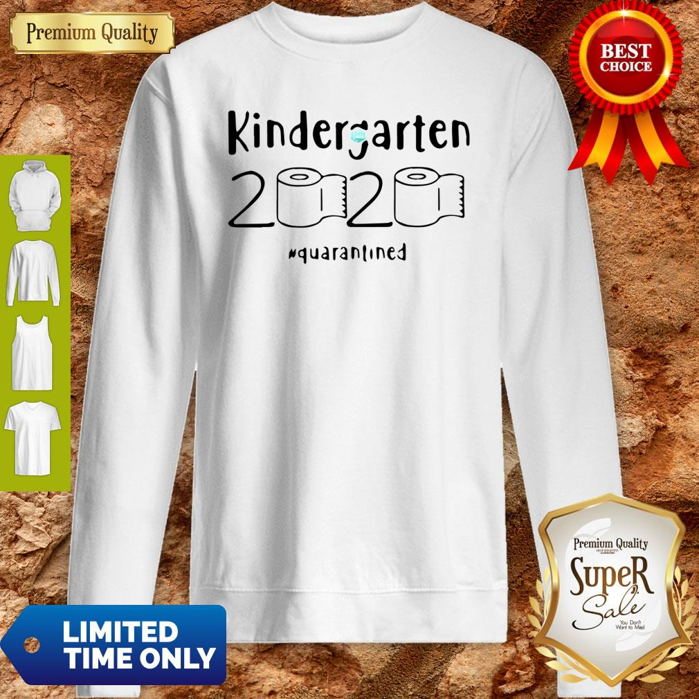 Awesome Kindergarten 2020 Quarantined Coronavirus Sweatshirt