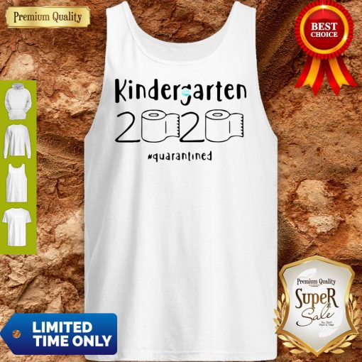Awesome Kindergarten 2020 Quarantined Coronavirus Tank Top