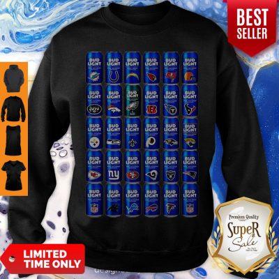 Bud Light NFL Team Logo Sweatshirt