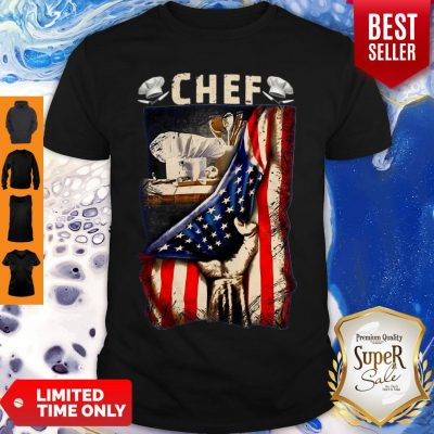 Chef American Flag Shirt