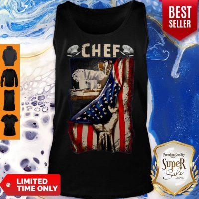 Chef American Flag Tank Top