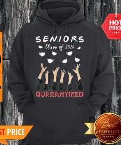 Face Mask Senior Class Of 2020 Graduation Quarantined Hoodie