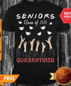 Face Mask Senior Class Of 2020 Graduation Quarantined Shirt
