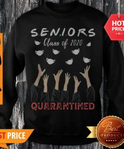 Face Mask Senior Class Of 2020 Graduation Quarantined Sweatshirt