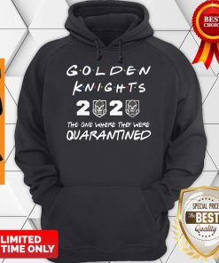 Golden Knights 2020 The One Where They Were Quarantined Covid-19 Hoodie