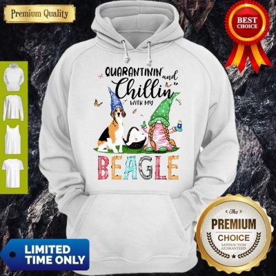 Dog Gnomies Paper Toilet Hand Wash Quarantinin And Chillin With My Beagle Hoodie