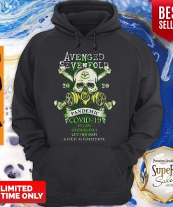 Avenged Sevenfold 2020 Pandemic Covid-19 In Case Of Emergency Version Skull Hoodie