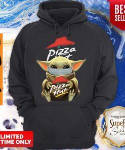 Nice Baby Yoda Mask Hug Pizza Hut Coronavirus Hoodie