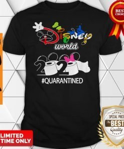Nice Disney World 2020 Quarantined Coronavirus Shirt