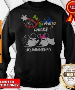 Nice Disney World 2020 Quarantined Coronavirus Sweatshirt