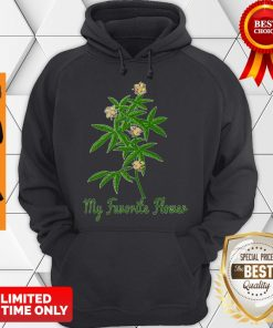 Official Cannabis My Favorite Flower Hoodie