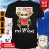 Star Wars Baby Yoda Face Mask Hug Harris Teeter I Can't Stay At Home Shirt