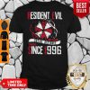 Awesome Resident Evil Social Distance Training Since 1996 T-shirt