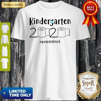 Premium Kindergarten 2020 Quarantined Shirt