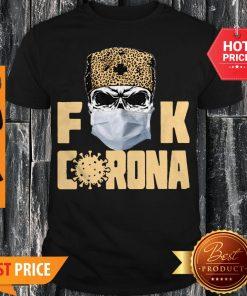 Skull Leopard Fuck Corona Shirt