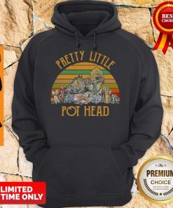 Stone Lotus Pretty Little Pothead Vintage Hoodie