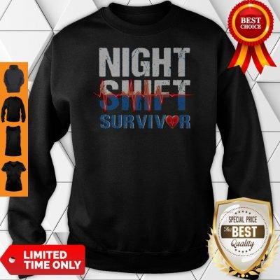 Official Night Shirt Survivor Sweatshirt