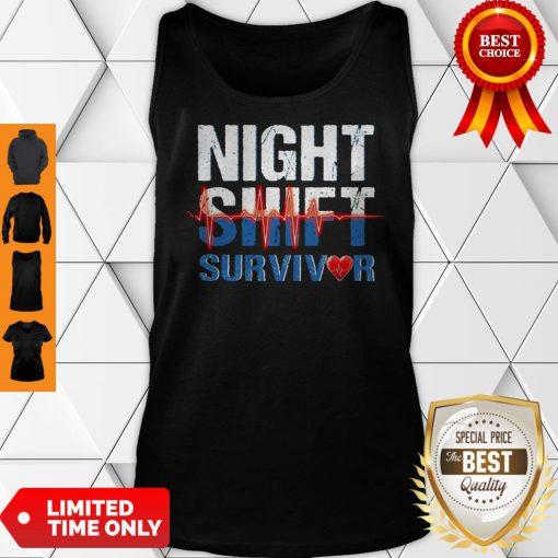 Official Night Shirt Survivor Tank Top