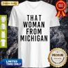 That Woman From Michigan V-neck