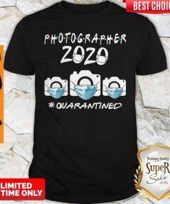 Top Photographer 2020 Quarantined Covid-19 Shirt