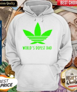 Awesome Weed Worlds Dopest Dad Hoodie