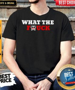 Awesome What The Firetruck Firefighter Shirt