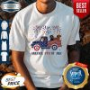 Dachshunds On The Car 4th Of July American Flag Shirt