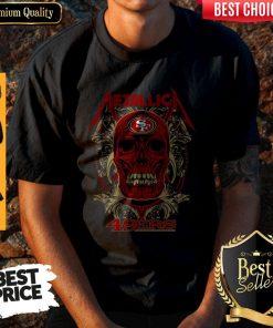 Good Skull Metallica San Francisco 49ers Shirt