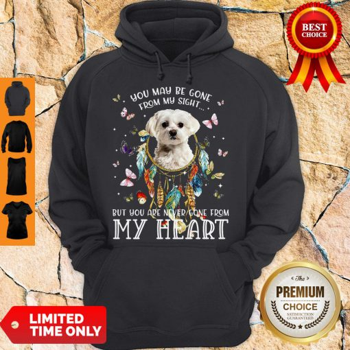 Good You May Be Gone From My Sight But You Are Never Gone From My Heart Hoodie