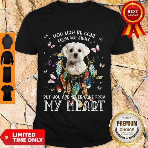 Good You May Be Gone From My Sight But You Are Never Gone From My Heart Shirt