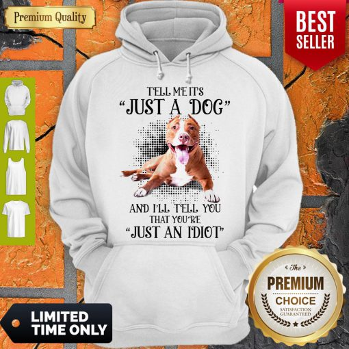 Awesome Pitbull Not Just A Dog Hoodie