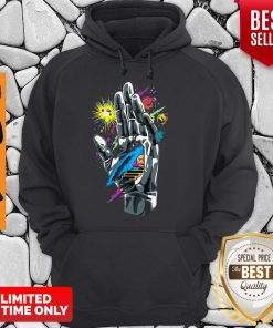 Nice Guiding Hand Of The Universe Push Through Hoodie