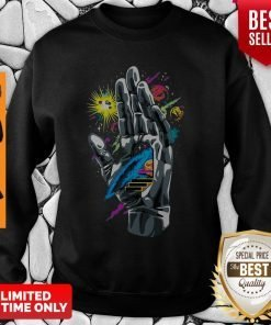 Nice Guiding Hand Of The Universe Push Through Sweatshirt