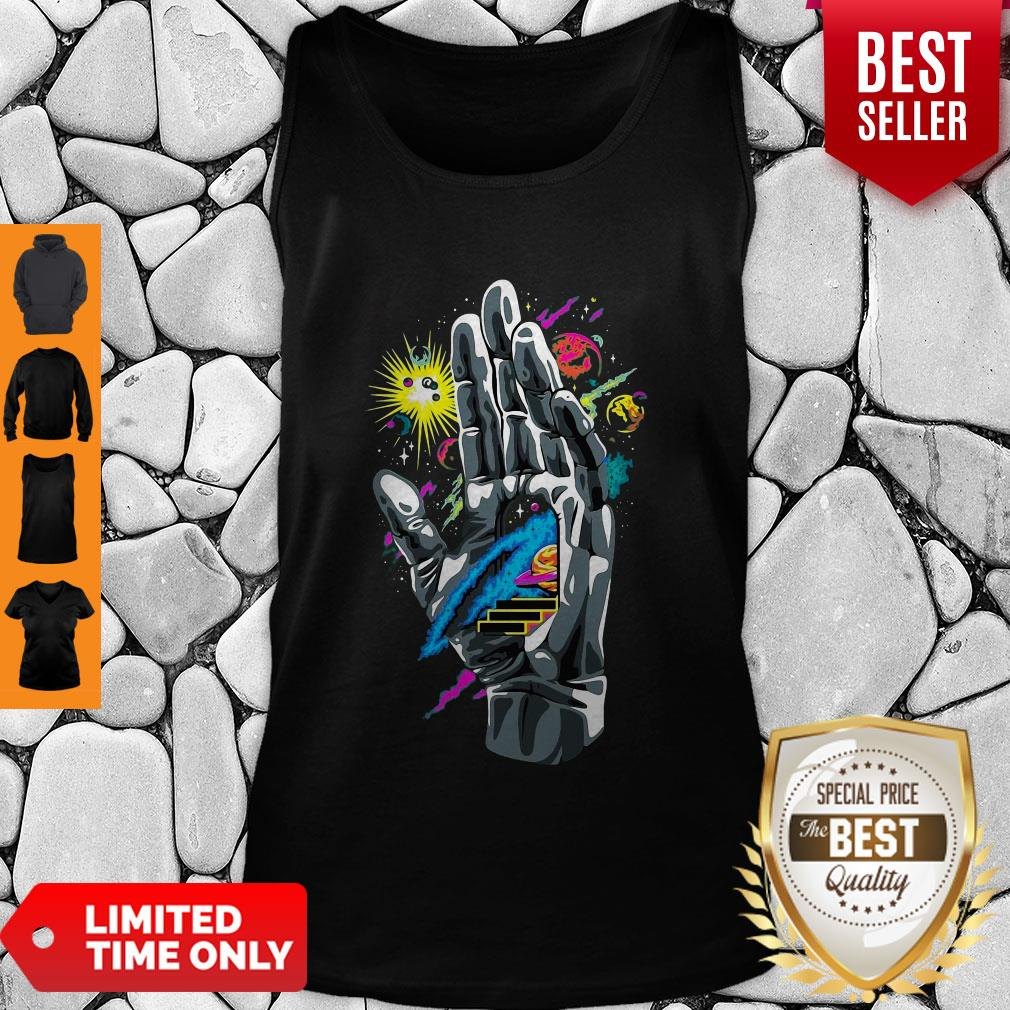 Nice Guiding Hand Of The Universe Push Through Tank Top