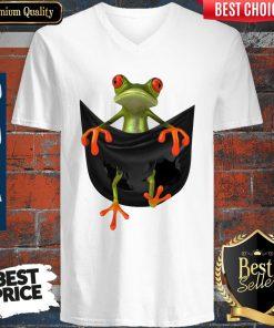 Official Frog In Pocket V-neck