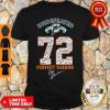 Official Miami Dolphins Undefeated 1972 72 Perfect Season Signatures Shirt