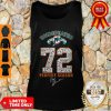 Official Miami Dolphins Undefeated 1972 72 Perfect Season Signatures Tank Top