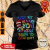 Official Why Fit In When You Were Born To Stand Out V-neck